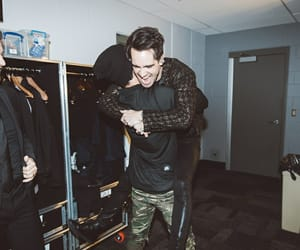 brendon urie, panic! at the disco, and josh dun image