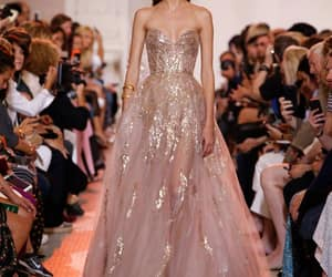 details, dress, and elie saab image