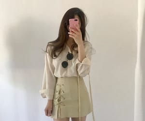 aesthetic, korean, and fashion image