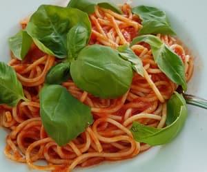 basilica, pasta, and food image