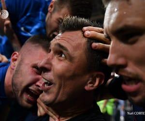 Croatia, crying, and goal image