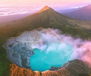 Crater, mountain, and nature image