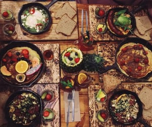 breakfast, egg, and foodlove image