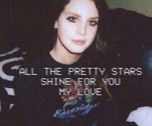lana del rey, grunge, and stars image