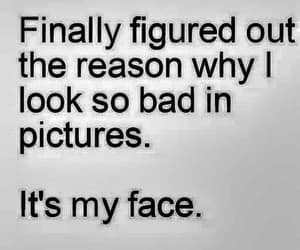 funny, quotes, and face image