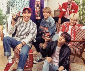 coca-cola, jin, and kpop image