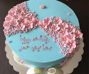 birthday cakes with name, cake name generator, and birthday cake generator image