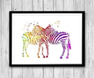 animal art, art, and couple animals image