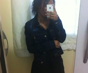beauty, tumblr girl, and black image
