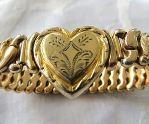 etsy, heart bracelet, and antique bracelet image
