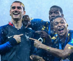 france, pogba, and griezmann image
