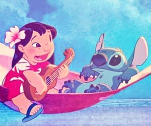 summer, liloandstitch, and summervibes image