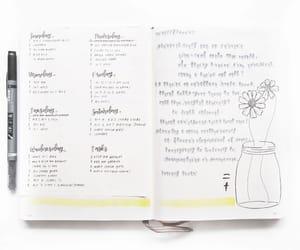 studies, bujo, and bullet journal image