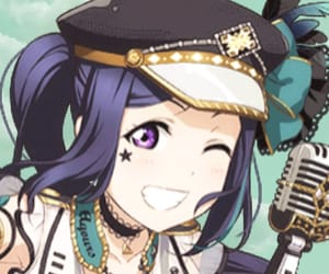 anime, azalea, and kanan matsuura image