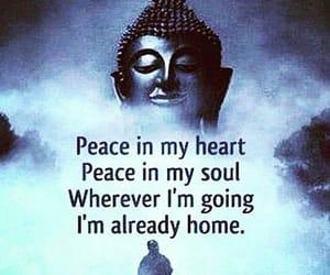 Buddha, home, and peace image