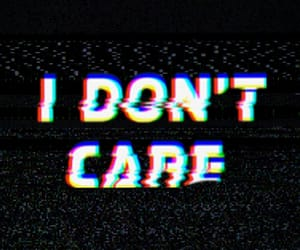 phrase, simple, and i don't care image