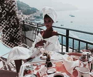 cindy kimberly, italy, and breakfast image