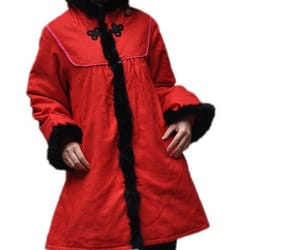 etsy, red jacket, and winter coat image