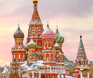 moscow and travel image