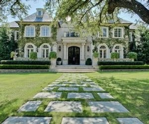 house, garden, and luxury image