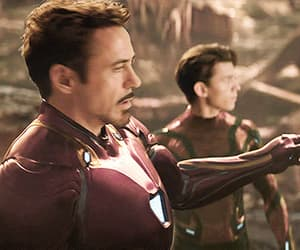Avengers, gif, and iron man image