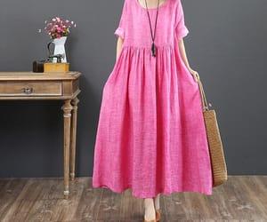 etsy, pocket dress, and floor dress image