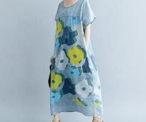 etsy, maternity dresses, and loose fitting dress image