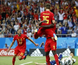 belgium, football, and red devils image