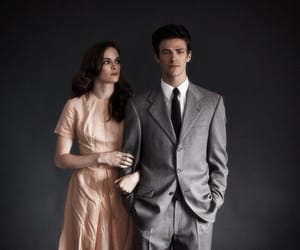 danielle panabaker, grant gustin, and couple image