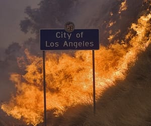 fire, la, and los angeles image