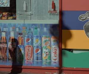Pepsi, vintage, and coke image