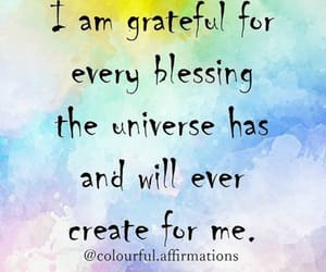 gratitude, the universe, and blessings image