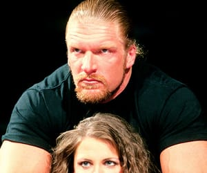 wwe, stephanie mcmahon, and triple h image