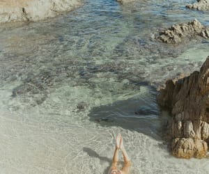 aqua, beach, and blue image