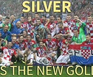 Croatia, football, and one love image