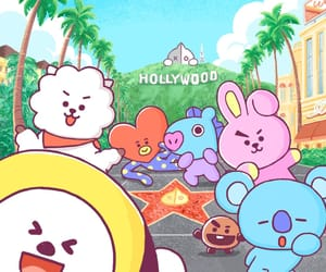 hollywood, comingsoon, and bt21 image