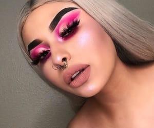 girl, inspiration, and makeup image