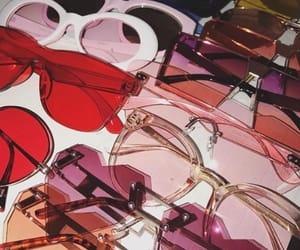 sunglasses, fashion, and pink image