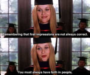faith, elle woods, and legally blonde image