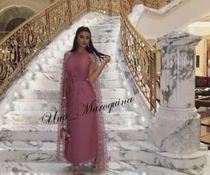 dress, pink, and una_maroquina image