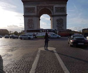 Champs-Elysees, porche, and france image