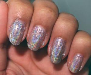 beautiful, glitter, and nail polish image