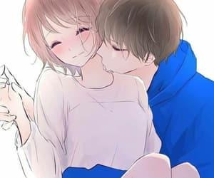 couple, love, and anime image
