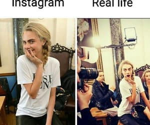 beauty, model, and real life image