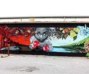 charleston, South Carolina, and mural image