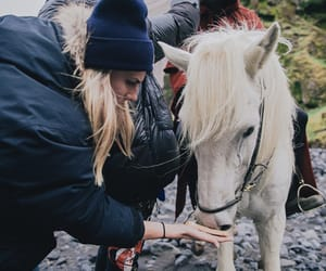 horse, jumpsuit, and jenna image