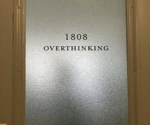 overthinking, aesthetic, and alternative image