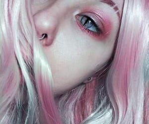 beauty, indie, and pink image