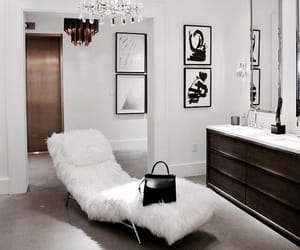 interior, white, and decor image