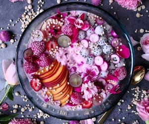 bowl, FRUiTS, and breakfast image